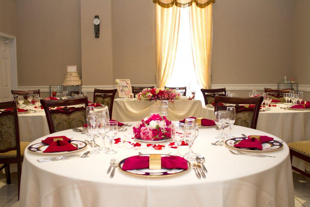 サロン丸テーブル